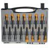 Izvijači torx križni in ploščati mini 15 delni set IM 15 3