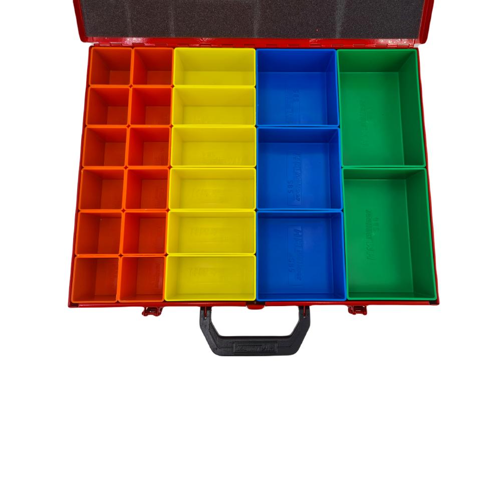 SORTIRNI KOVCEK SKATLA BOX KOVINSKI 450X345X68 SK23 3