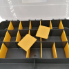 Sortirni kovček škatla box 21 predalov 02135 4