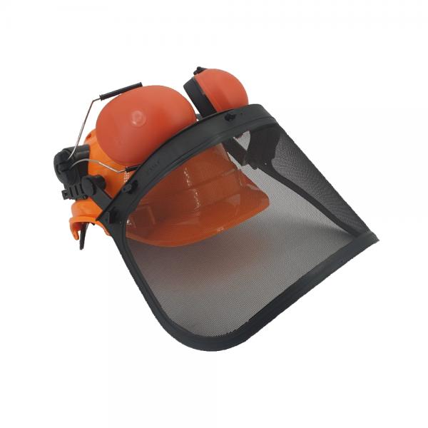 Zaščitna čelada z glušniki in zaščitnim vizirjem ZS B956 2