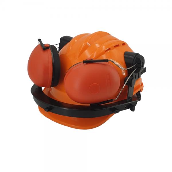 Zaščitna čelada z glušniki in zaščitnim vizirjem ZS B956 3
