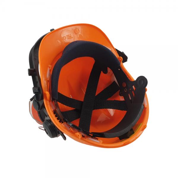 Zaščitna čelada z glušniki in zaščitnim vizirjem ZS B956 5
