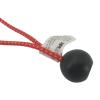 zanke s kroglico pajki za pritrjevanje gumijasti 25cm 6 delni set 694 6 3
