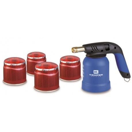 plinska spajkalka s plinskimi kartusami 5 delni set ke2019sets